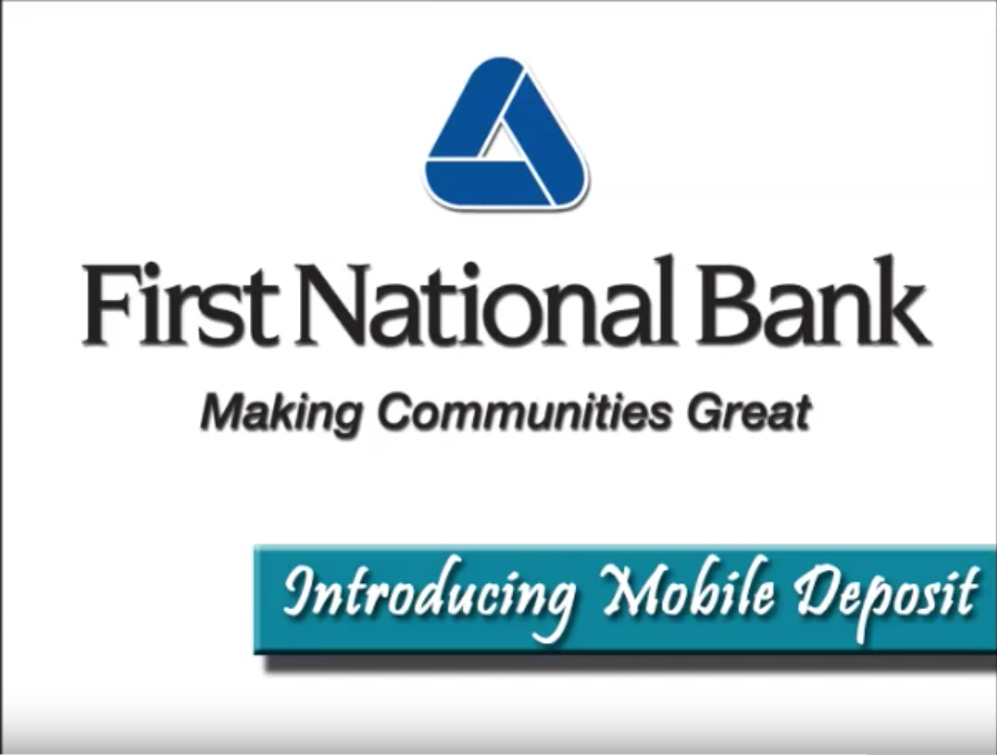 Mobile Banking with Mobile Deposit Demo video